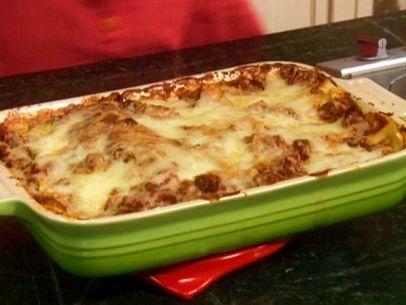 Lots of meat lasagna