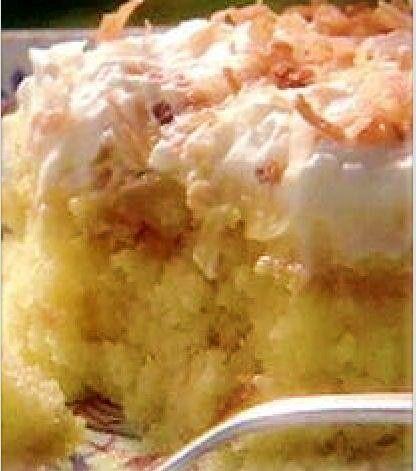 Pineapple Pudding Cake aka Better Than Sex Cake