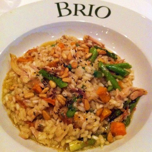 Sweet Potato and Chicken Risotto