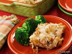 Mr. Food's Chicken 'n' Stuffing Casserole