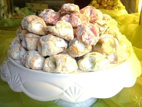 Pasta di Mandorle (Baked Marzipan Cookies from Sicily)