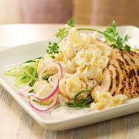 Tzatziki Pasta & Chicken Salad