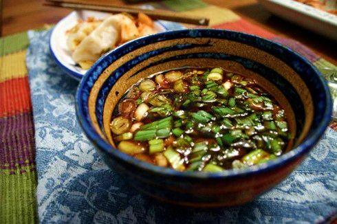 Salsa Coreana-Mexicana para Dumplings