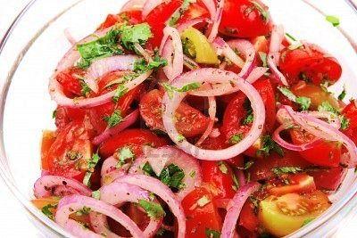 Kachumbari(Kenyan vegetable salsa)