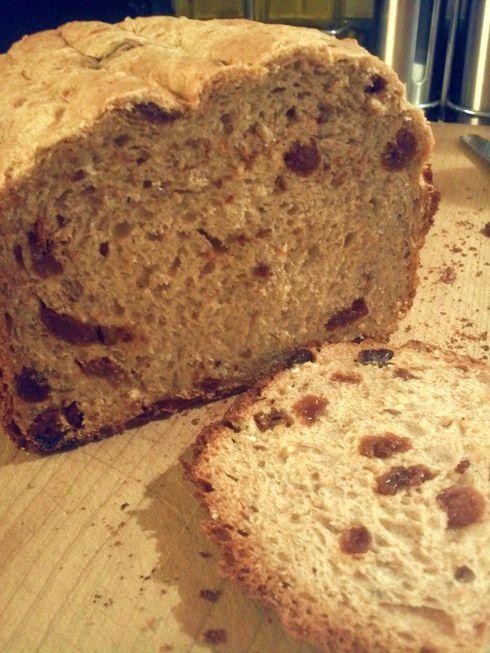Multigrain Raisin Bread