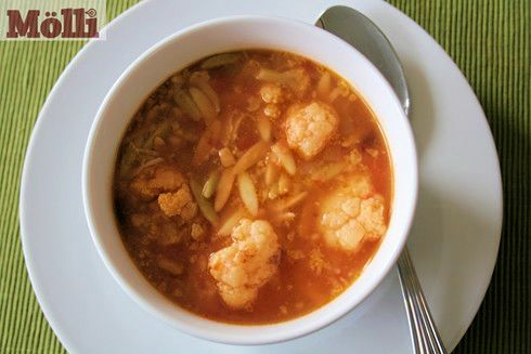 Spicy cauliflower soup (Sopa de Coliflor)