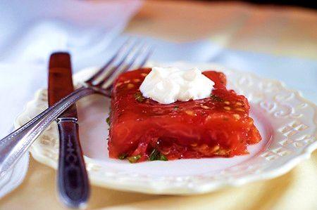 Old Fashioned Tomato Aspic