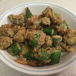Fried Bhindi (Okra)