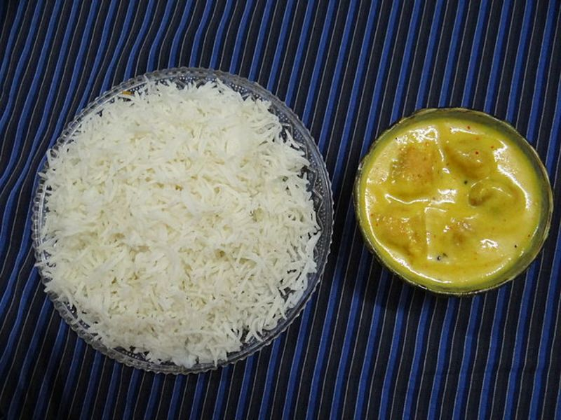 picture of Gujarait Kadhi (Yogurt based Curry)