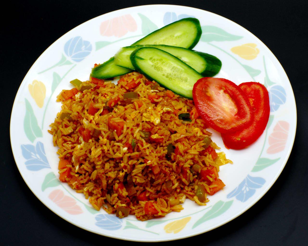 Nasi Goreng With Sambal Oelek Image