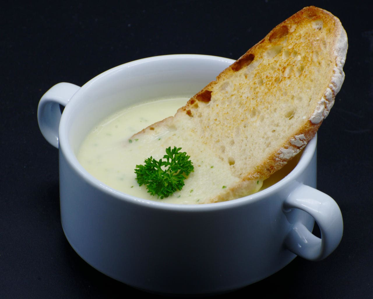 Potato and Leek Soup Image