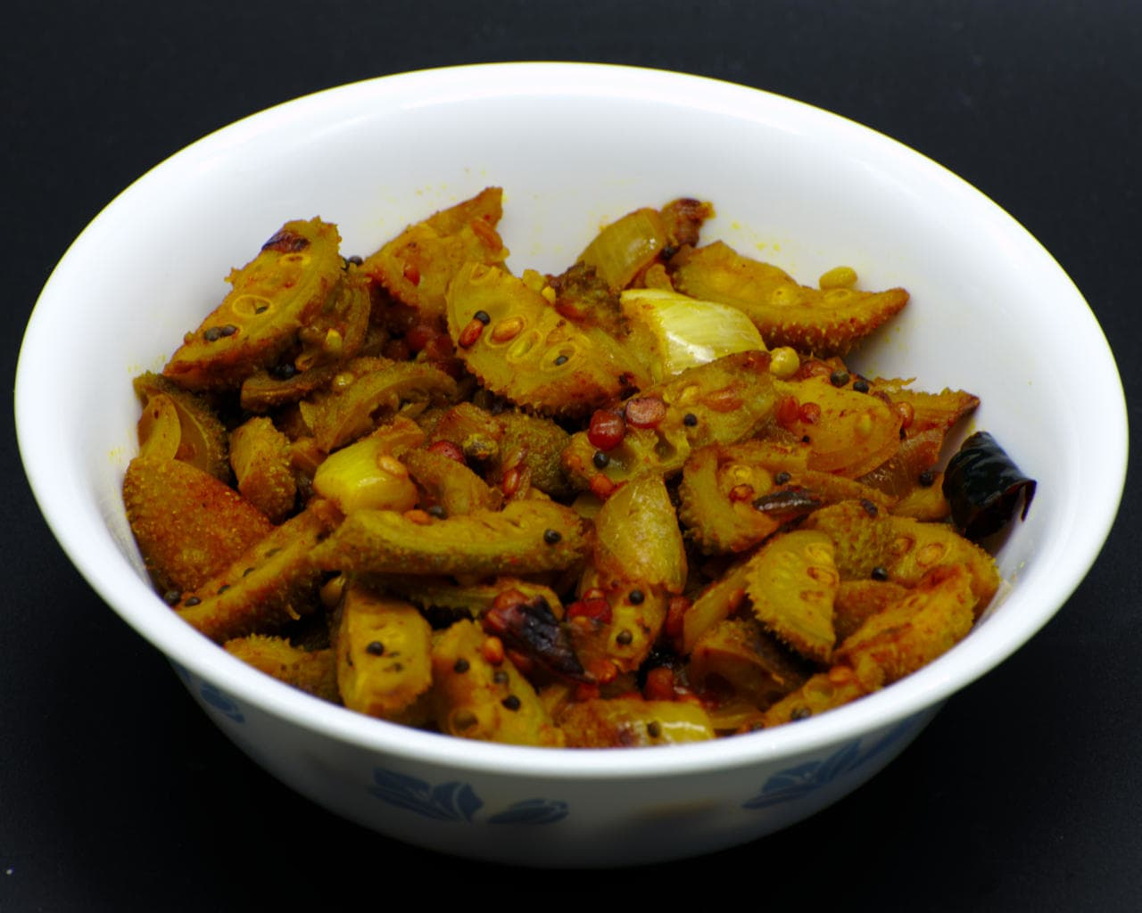 Stir-Fried Kantola With South Indian Spices Image