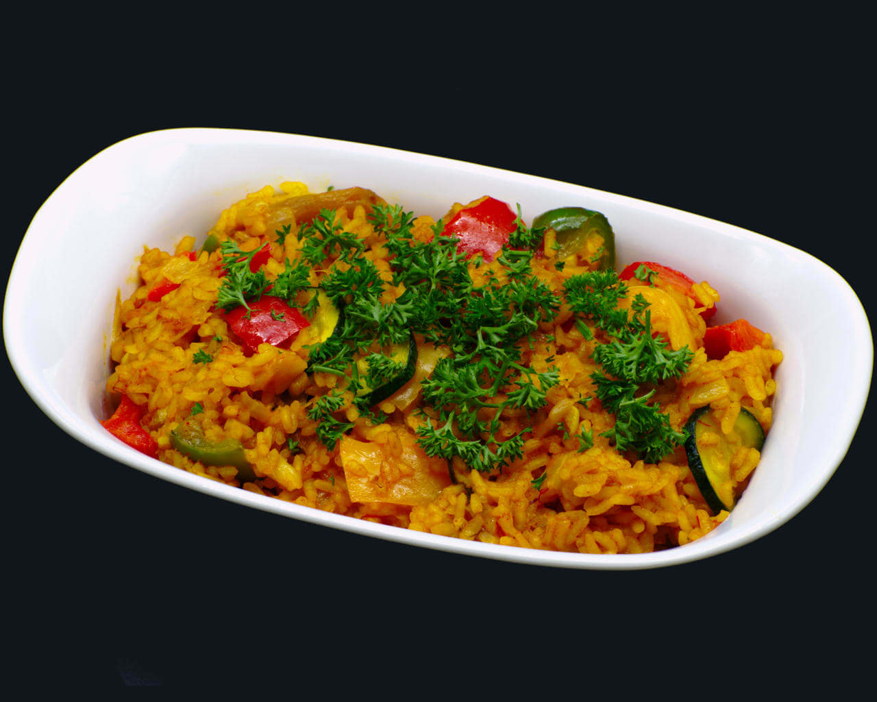 Vegetable Paella Image
