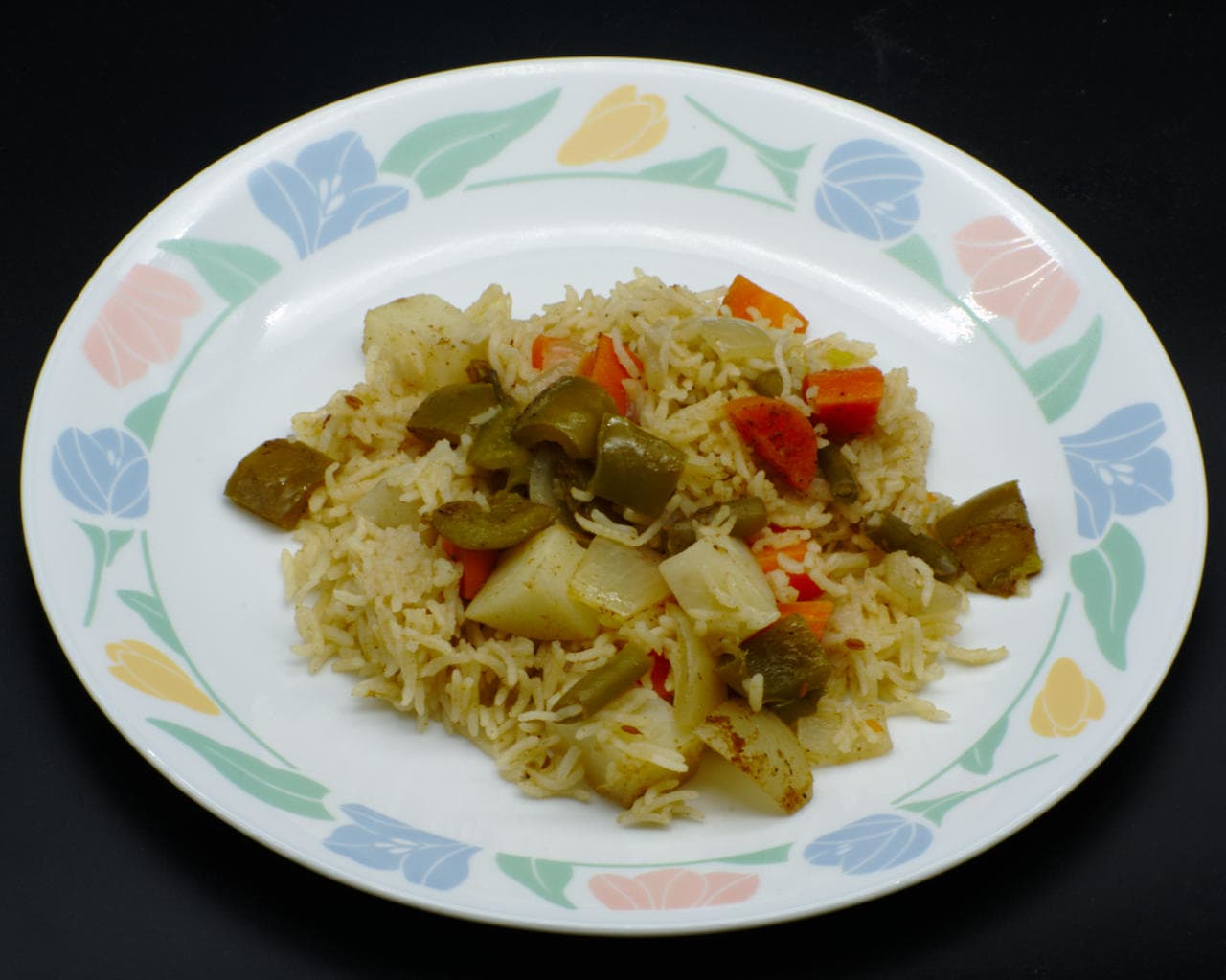 Quick Vegetable Pulao Image