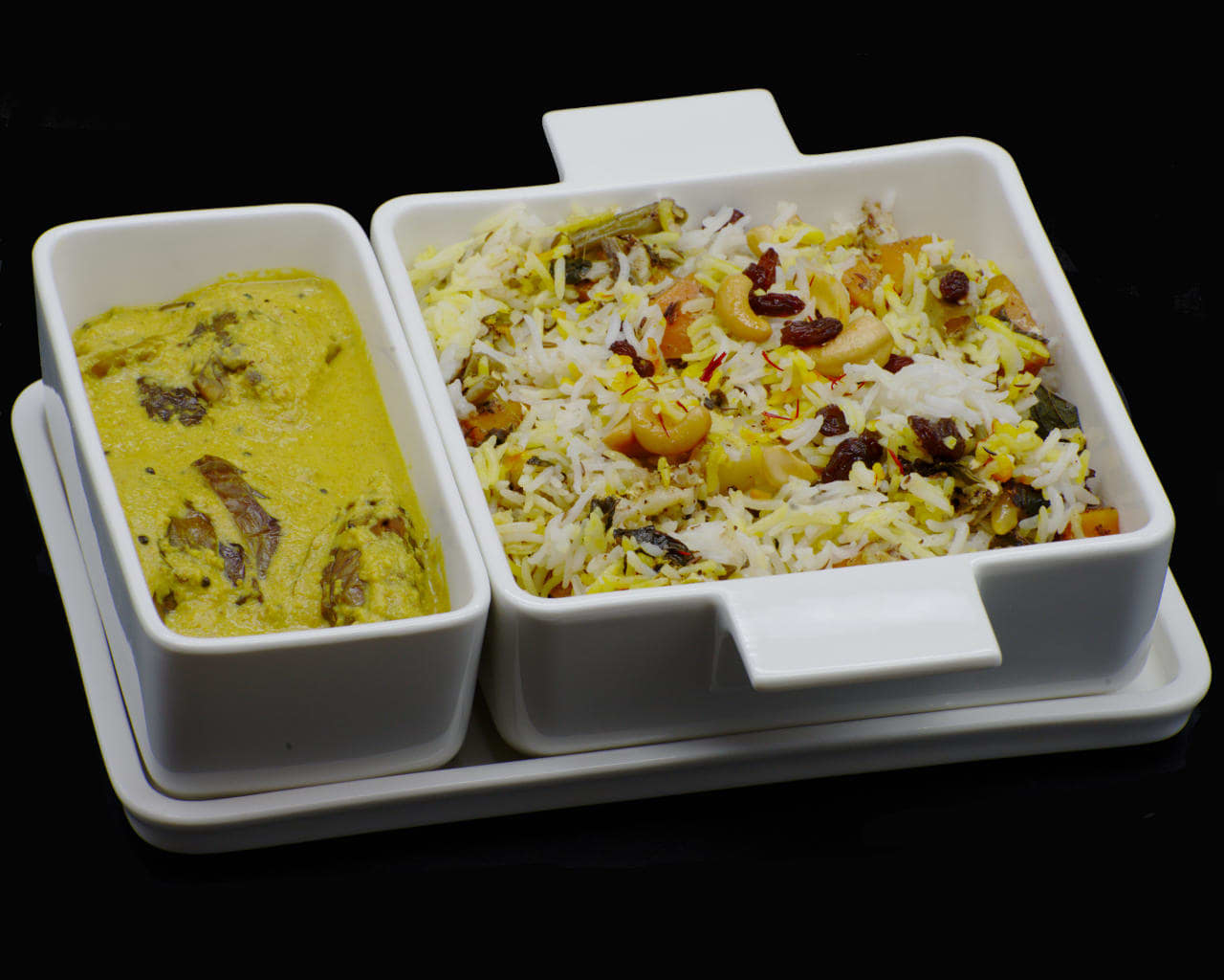 Hyderabadi Vegetable Dum Biryani Image