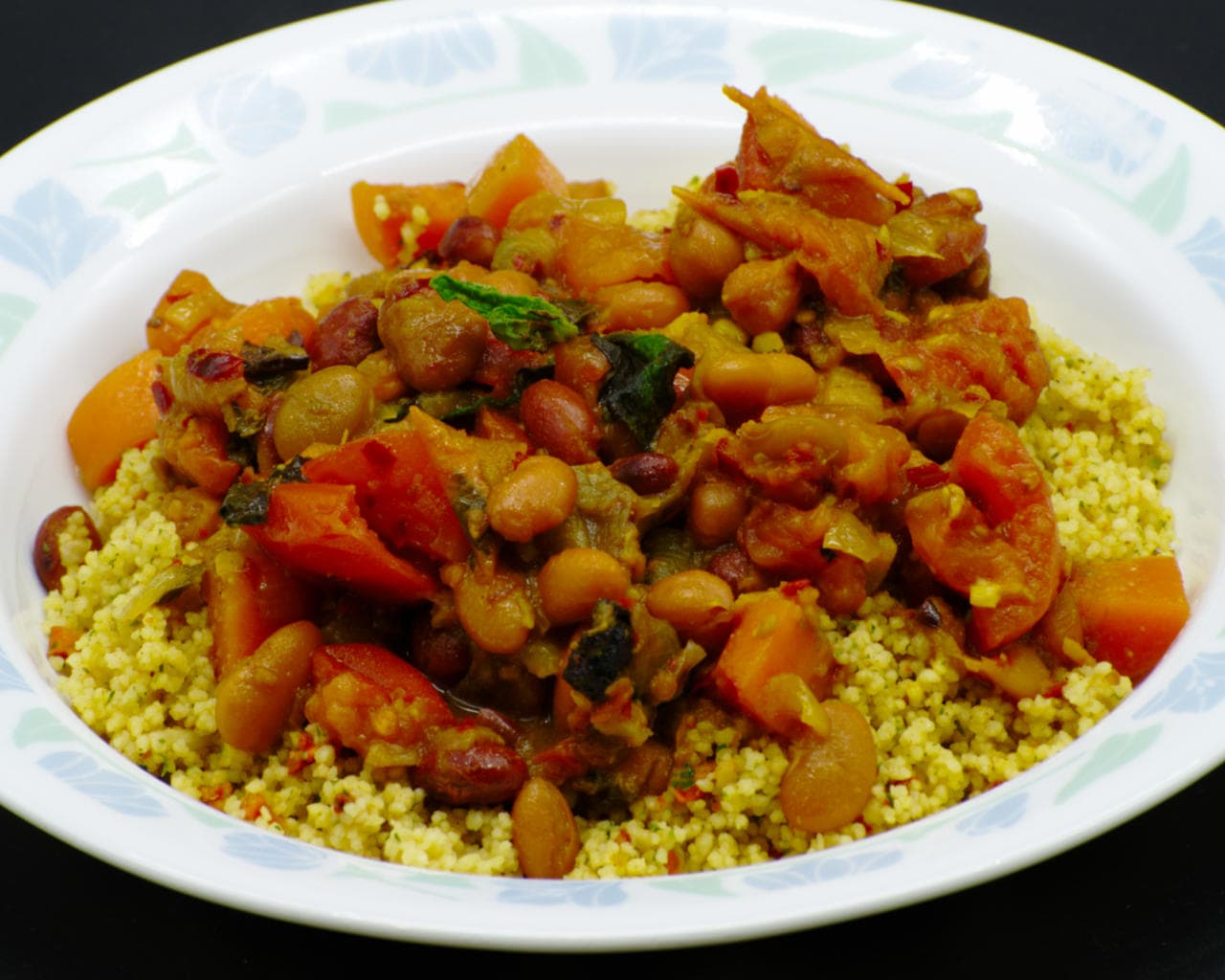 Vegetable and Beans Tagine Image