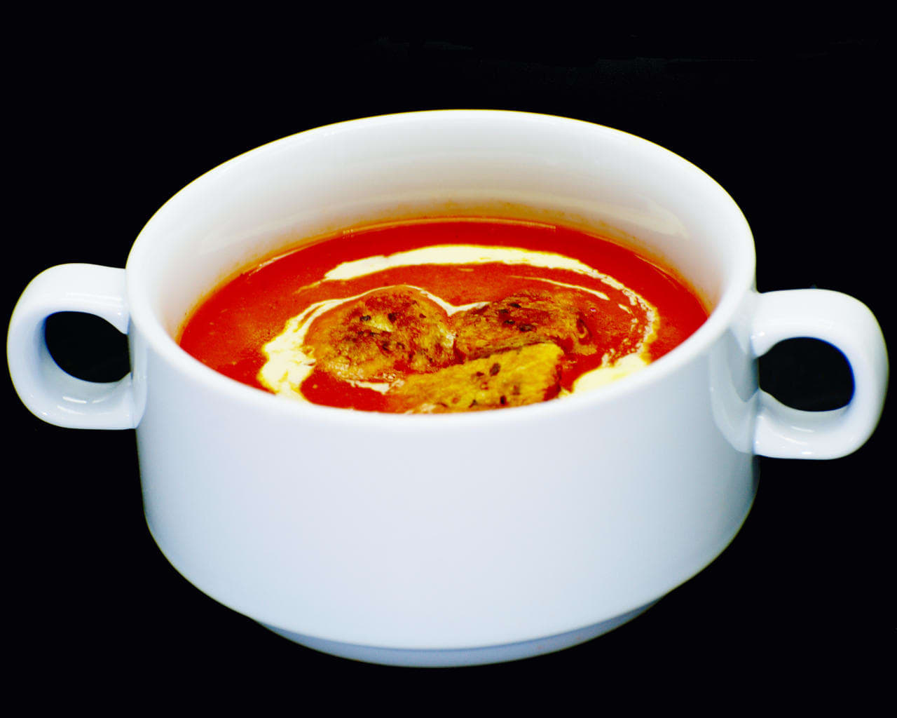 Tomato Soup (the Indian Way) Image