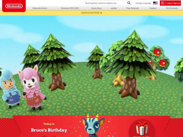 screenshot ofAnimal Crossing