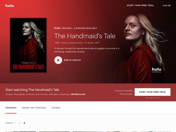 screenshot ofHandmaid's Tale