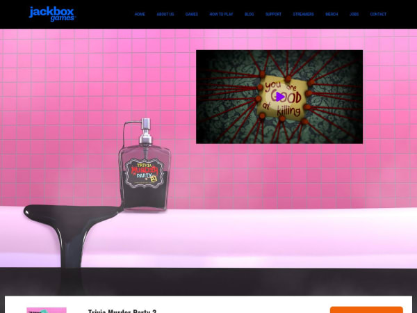 screenshot ofJackbox Games - Murder Party Two