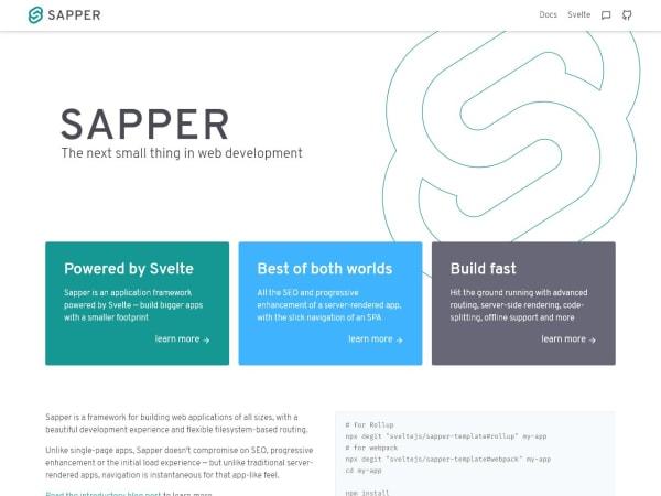 screenshot ofSapper