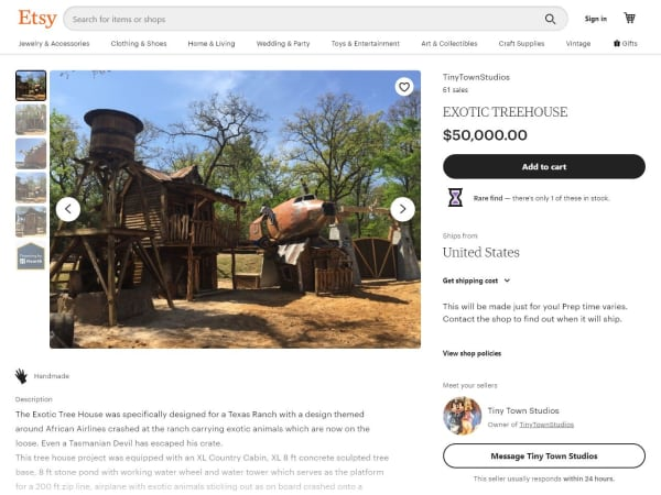 """screenshot ofValley Silicon: Ultimate """"treehouse"""""""