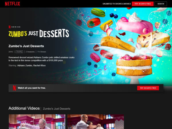 "screenshot of""Zumbo's Just Desserts""-Netflix"