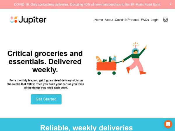 screenshot ofJupiter
