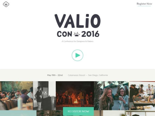 screenshot ofValio Con