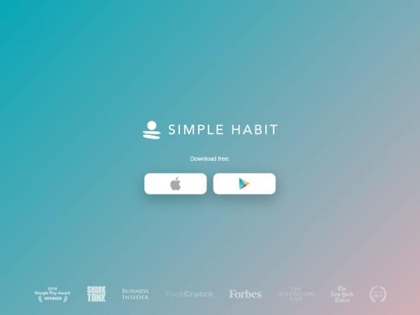 screenshot ofSimple Habit