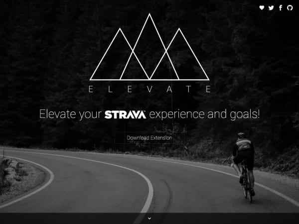 screenshot ofElevate for Strava