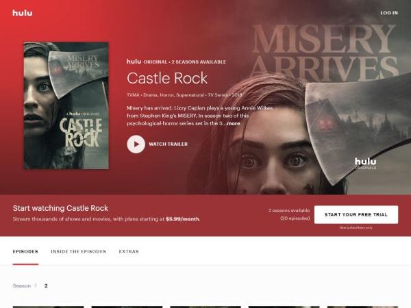 screenshot ofCastle Rock