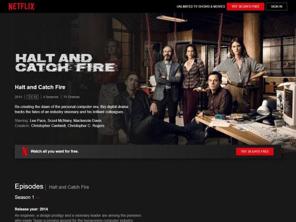 screenshot ofHalt and Catch Fire