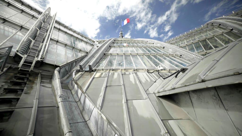 Le toit du Grand Palais, 2021