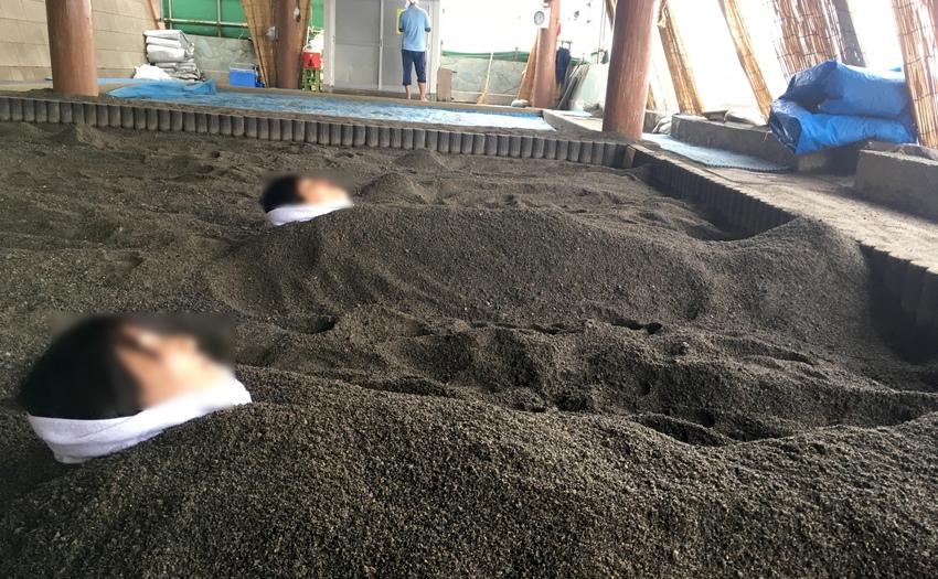 砂むし温泉 砂楽_1