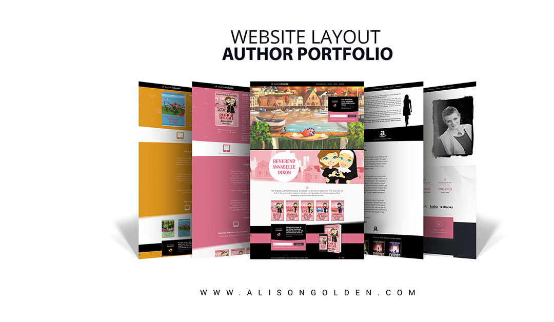Alison Golden Website Design And Build – Phase 1