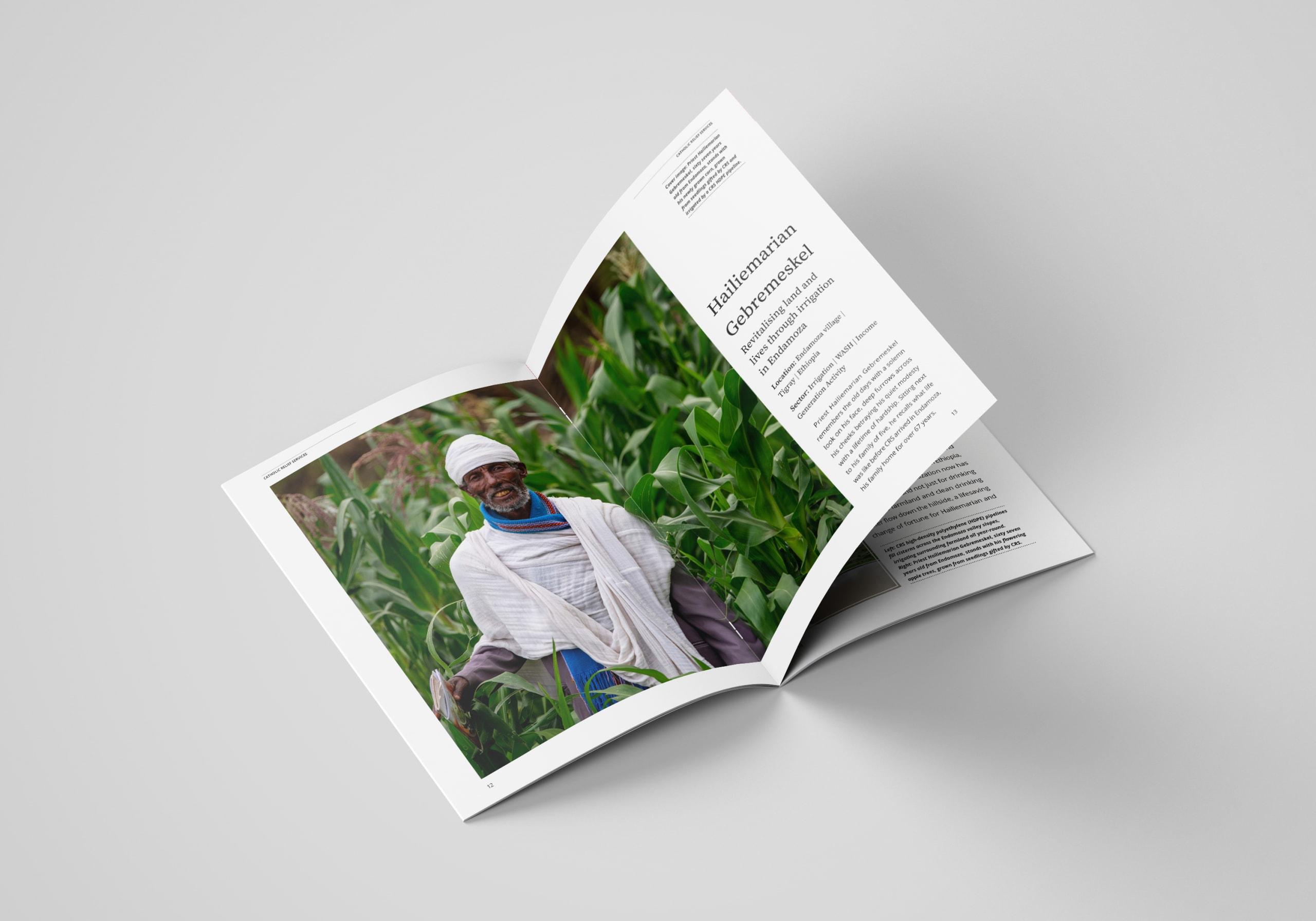 Publication Layout for iNGO Publication