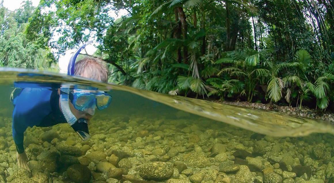 River Drift Snorkelling