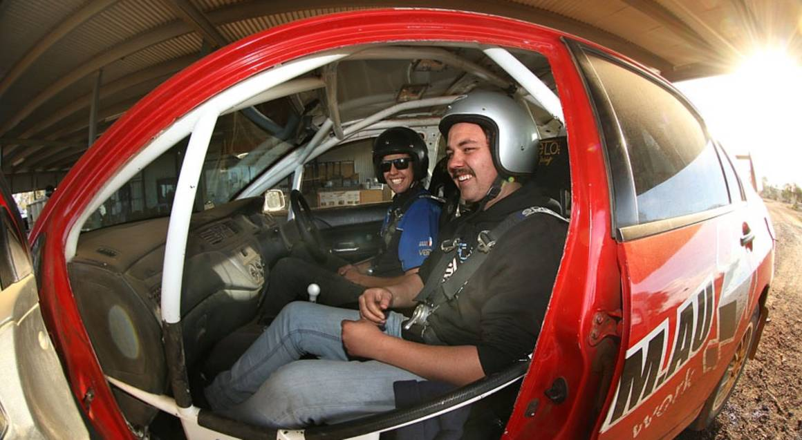 Rally Driving 3 Hot Laps - Adelaide