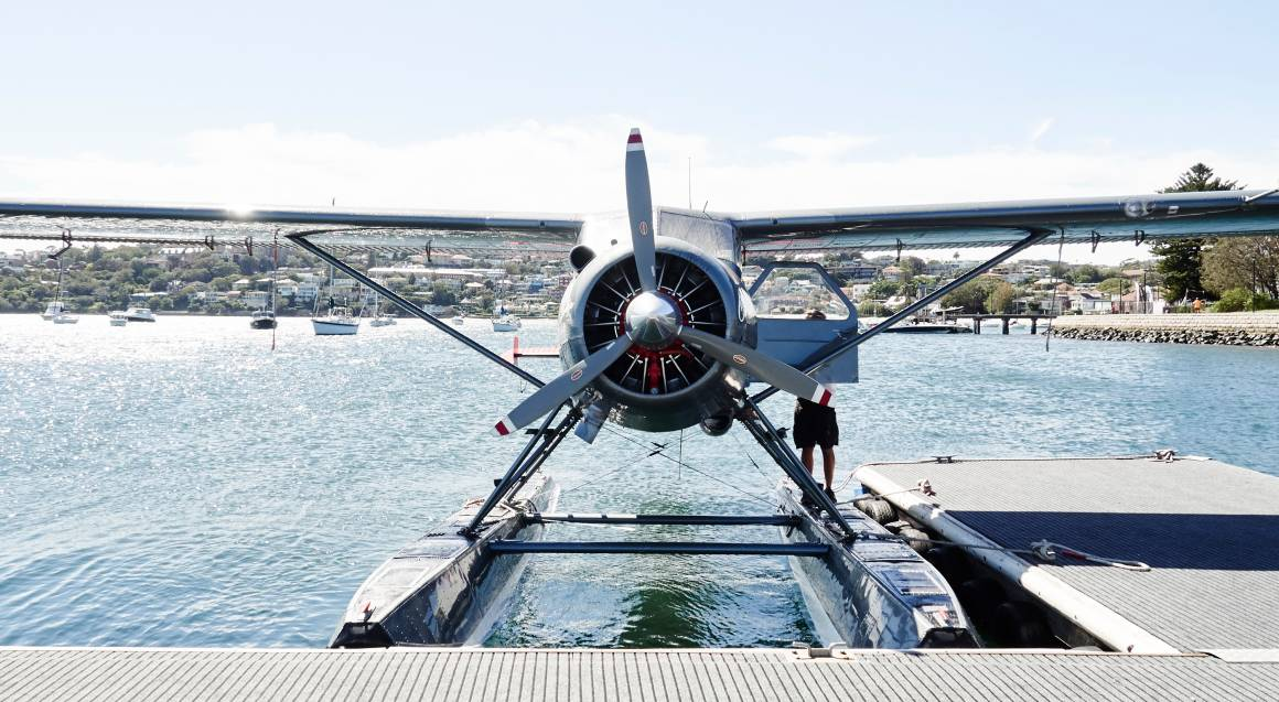Seaplane Flight and Lunch at Catalina - For 2