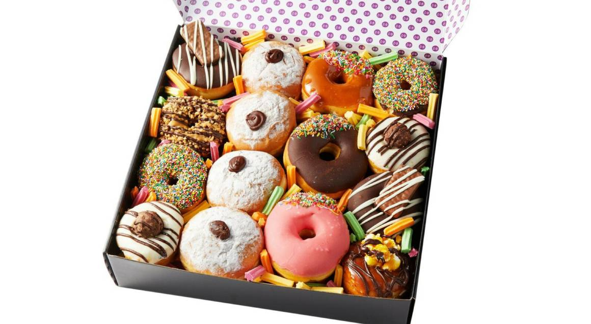 Assorted Donut Box Gift Box - 15 Donuts