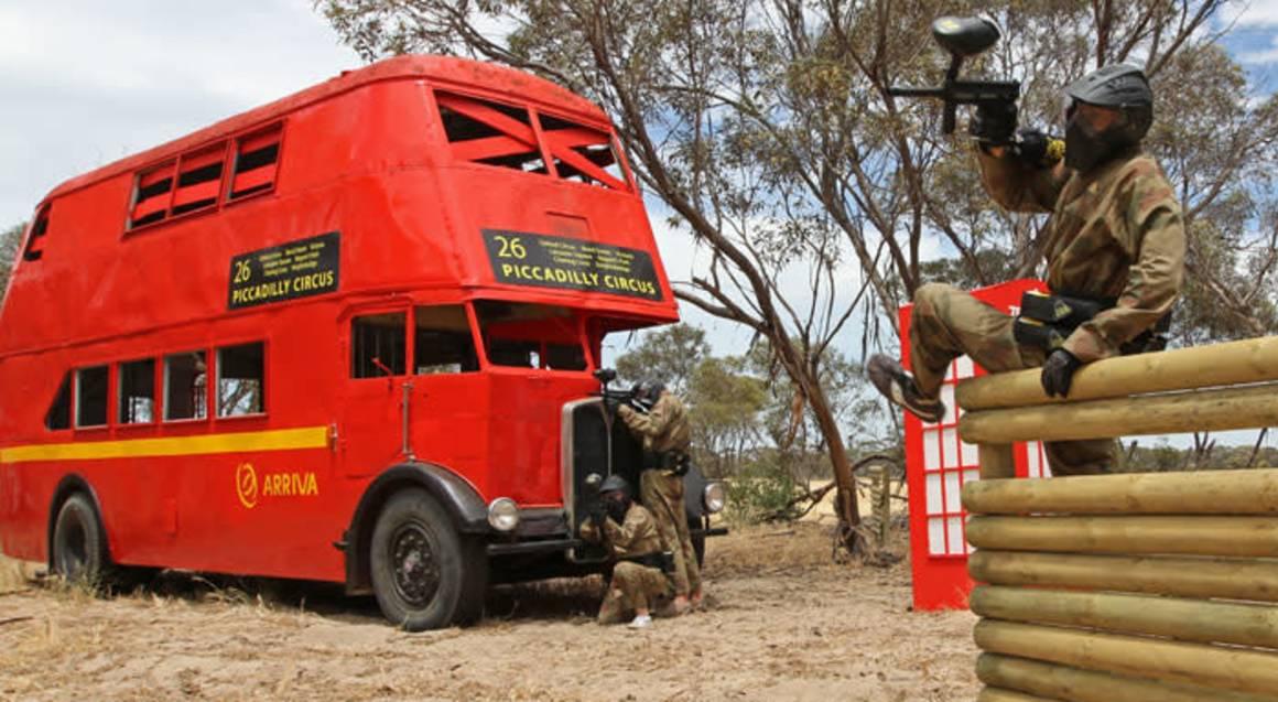 Delta Force Paintball field montaro south australia