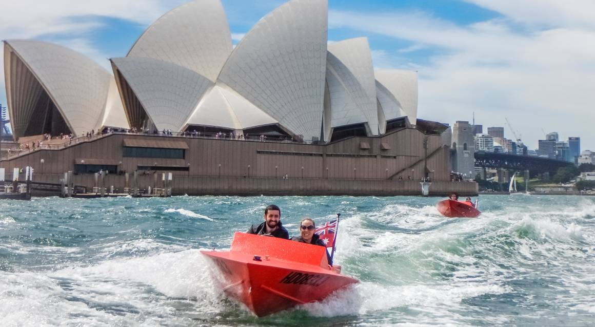 Guided Sydney Harbour Self-Driven Boat Tour Weekend - For 2