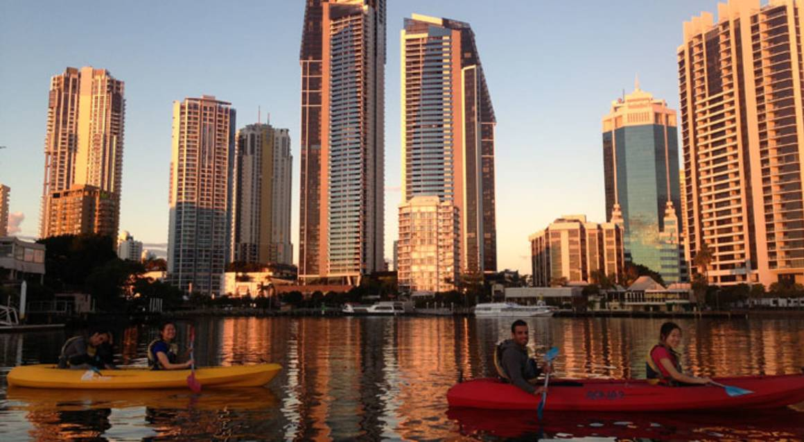 Guided Kayak Adventure at Sunset - 2 Hours