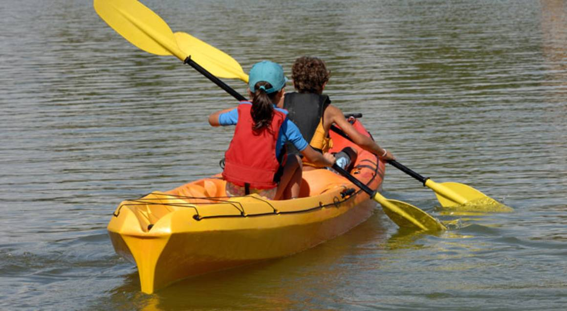 Self Guided Kayak Adventure and Hot Springs Entry - For 2