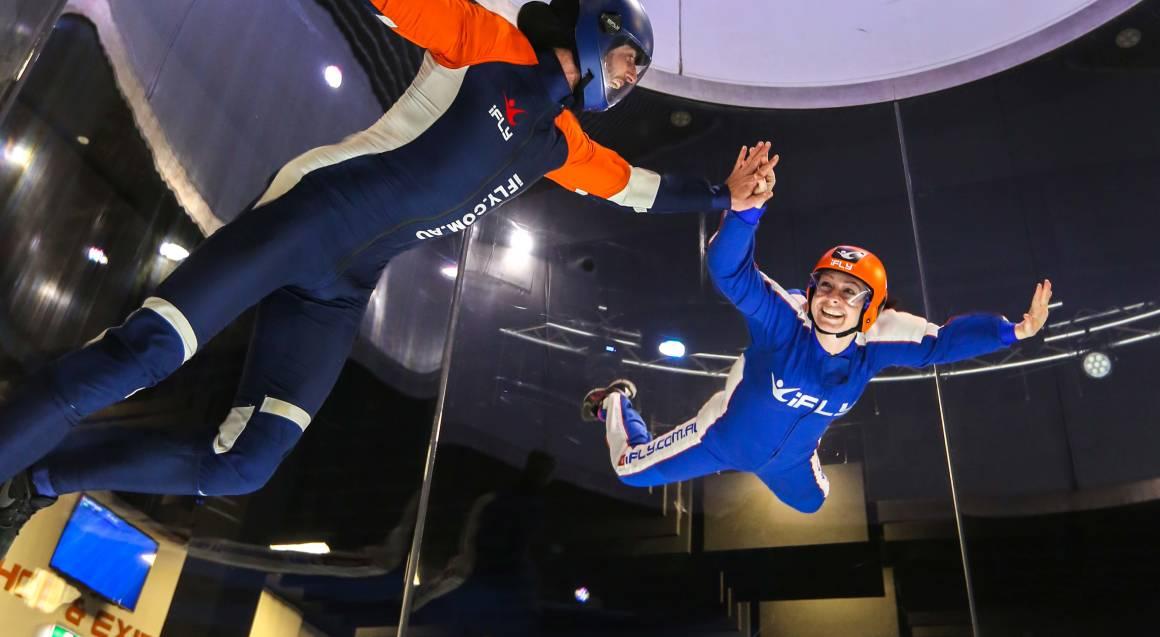 Fast Track Indoor Skydiving Package - 10 Flights