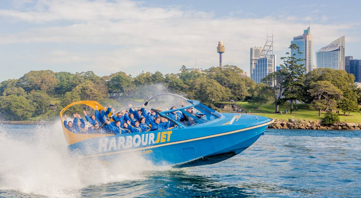 Jet Boat Harbour Adventure - 35 Minutes - For 2