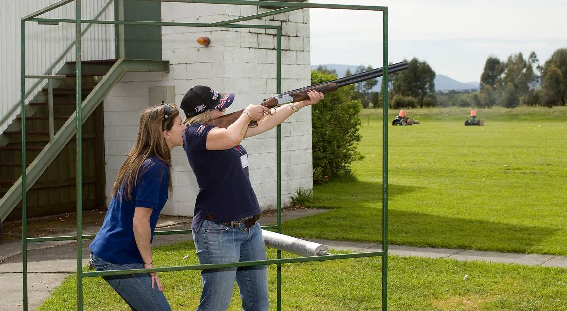 Clay Target Shooting - Lilydale, VIC