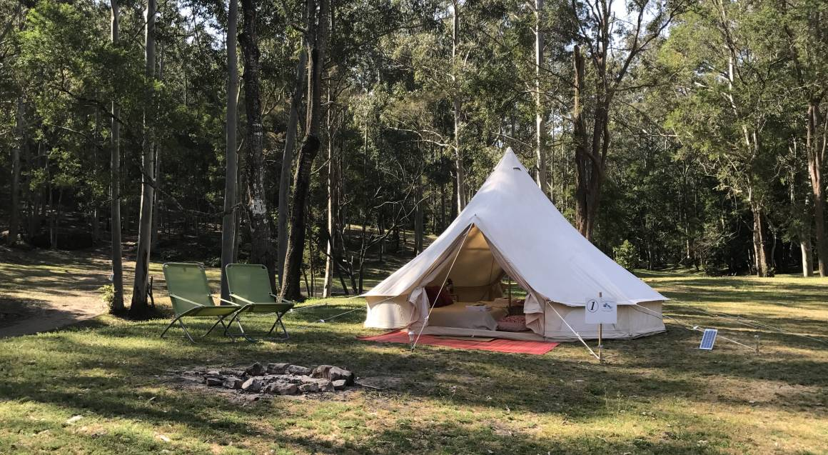 Luxury Glamping at Glenworth Valley - 2 Nights - For 2