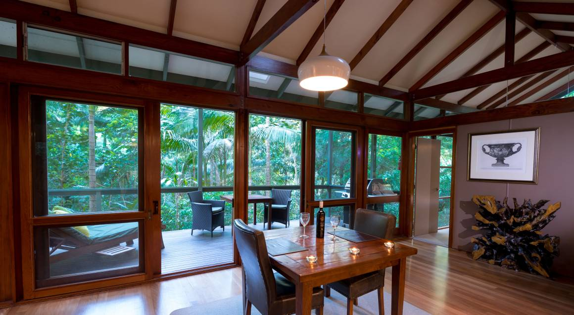 2 Night Rainforest Retreat with Breakfast and Wine - Midweek